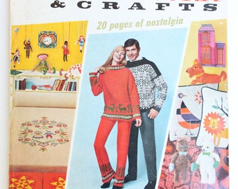 Vintage McCall's Needlework and Crafts Fall-Winter 1969-70 50th Anniversary Issue