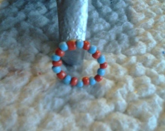 Beaded Stretchy Ring