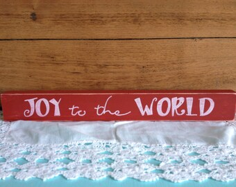 Joy to the World shelf sitter