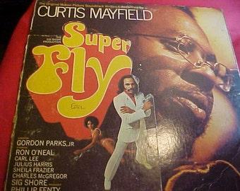 Curtis Mayfield Super Fly Orig Soundtrack Vintage  vinyl record '72 VG+++