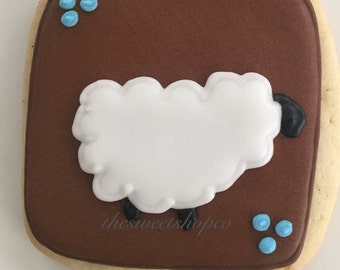 Little Lamb cookies 2 dozen