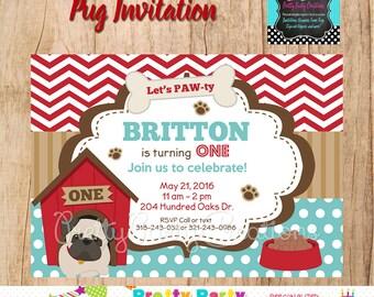 PUG invitation - You Print