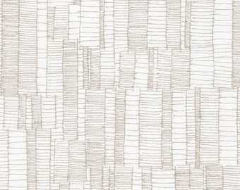 Doe Ladder Lines in Ash, Carolyn Friedlander, Robert Kaufman Fabrics, 100% Cotton Fabric, AFR-15026-290 ASH