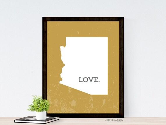 arizona print home decor arizona wall art arizona state map arizona wall decor arizona home decor wood wall by