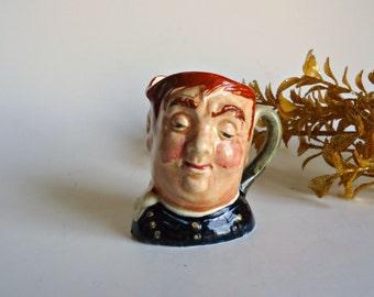 Royal Doulton Character Jug Fat Boy D6139 Miniature Toby-Mug