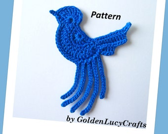 Blue Bird Crochet Pattern