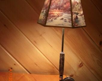 Fly Reel Lamp
