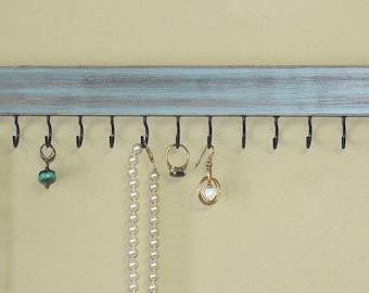 Jewelry Holder Wall/ Necklace Holder/ Jewelry Organizer Wall/Jewelry Rack/  Baby Headband
