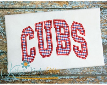Cubs Arched