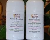 DEODORANT, NATURAL - NO Baking Soda! Won't clog pores; Neutralizes Odor, Absorbs Wetness; Choose Scent