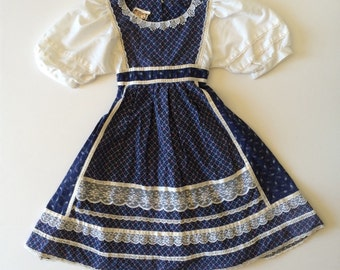 Sale 1970's Gunne Sax Floral & Lace Dress Kids (6x)