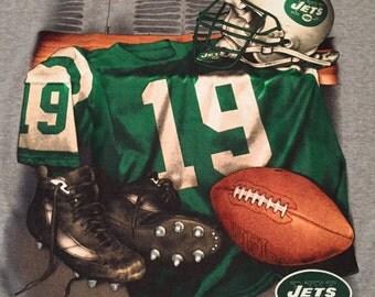 Vintage New York Jets Kesean Johnson T-Shirt