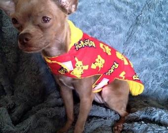 Pokemon Dog Jacket