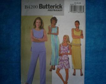 Butterick 4200 Misses Size 14-16-18.