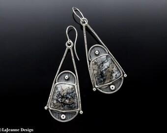 Crowning Glory - Josephine's Crown Sterling Silver Earrings