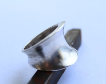 Sterling Silver rING - Modernist- Minimalistic  Size 8