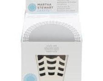 TRIPLE WEB Circle Edge punch cartridge by Martha Stewart
