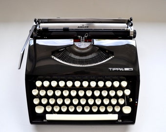 Vintage Adler Tippa S Manual Typewriter