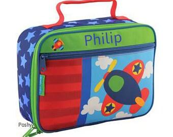 Personalized Boy Lunch Box Stephen Joseph Plane