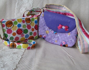 Hello Kitty or Minnie Mouse Girls purse
