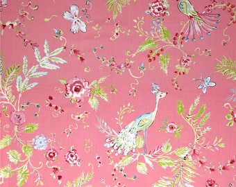 25191  Dena Designs Chinoiserie Chic Birdsong in Pink color  PWDF193 - 1 yard
