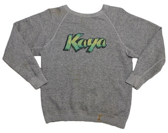 Bob Marley Kaya Promo Sweater 1978 Vintage Rasta Sweatshirt 70s Rare Vtg 1970s Reggae Long Sleeve