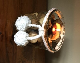 Wood Rounds for Centerpieces