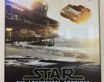 Disneyland  Star Tours Attraction Poster   Art