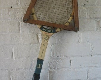Vintage Doris Hart Spalding Signiture Tennis Racquet