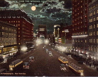 New York City, New York - Vintage Postcard - Unused (O)