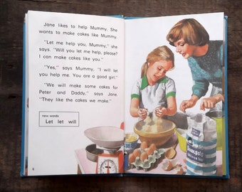 Vintage Ladybird Book Key Words Reading Scheme. Things We Do,