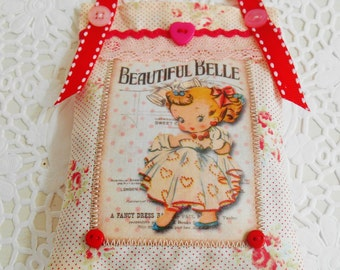 Cute Retro Inspired Lavender Sachet/Home Decor