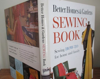 Vintage Better Homes & Gardens Sewing Book How-to for home and family