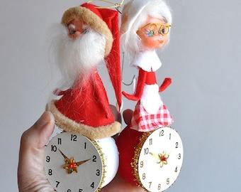 SALE! Father Time / Santa Ornaments - Japan