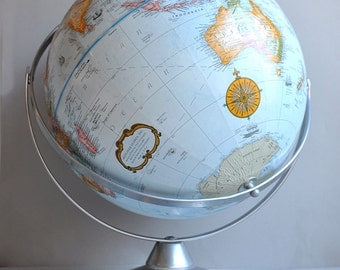 SALE 20% OFF! Replogle World Classic Series - Dual Axis Relief Desk Globe - Made in USA