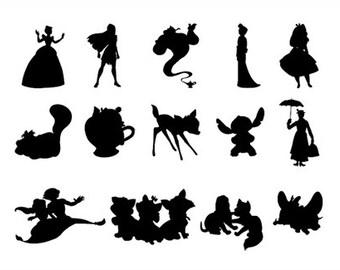 Various Disney Character Sticker