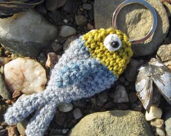 Silly Fishy Keyring