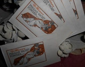 Private Listing- 5 Dr Blumers Sachet Powder and 4 Art Deco Spanish Health and Beauty Labels