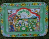Cabbage Patch TV Tray, Vintage Cabbage Patch Tray, Cabbage Patch Collectible, Child's Tray