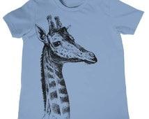Kids Giraffe T-Shirt Boys Girls Birthday Shirt Gift Present Circus Animal Zoo Tee Cool Kids Tshirt Giraffes Novelty Gifts Toddler Gift Idea