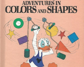 Walt Disney Adventures In Colors and Shapes Volume 3