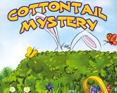 NEW PERSONALIZED STORYBOOK/Easter Bunny Book/Cottontail Mystery/Ages 0 to 4 Years/Child's Name/Hometown/Friends/Created Just For Your Child