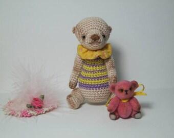 Artist Crochet Miniature Bear *Arnoldo*