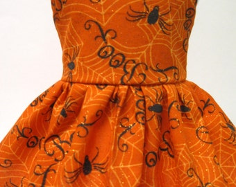 Spider Web Halloween Dress for Your American Girl Doll D