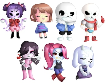 Undertale Key Chains (PICK ONE)