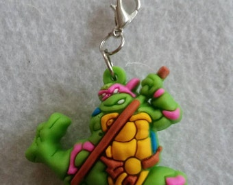 10 Turtles Zipper Pull Party Favors