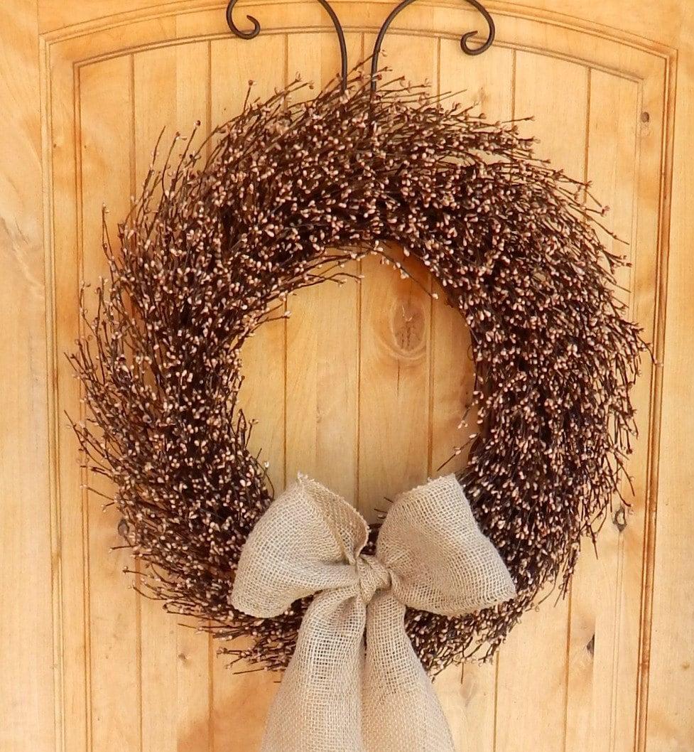 Fall Wreath-Fall Door Wreaths-Mantle Wreath-Fireplace Wreath ...