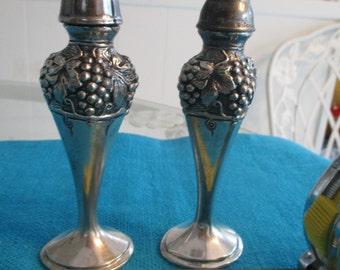 Viking Salt and Pepper Shakers