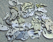 Vintage wrist watch parts to use in your artwork. Set of 50.