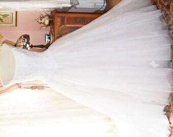 Wedding Gown by Oleg Cassini